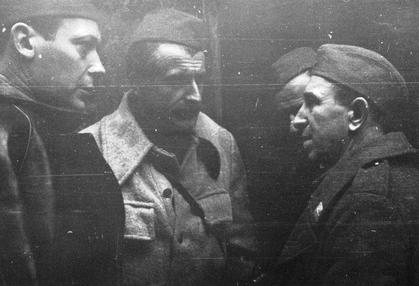Vladimir Velebit, Skender Kulenović, Đuro Pucar Stari, Vaso Butozan, Partizani, NOB, NOR, NOP, NOVJ, Drugi svetski rat