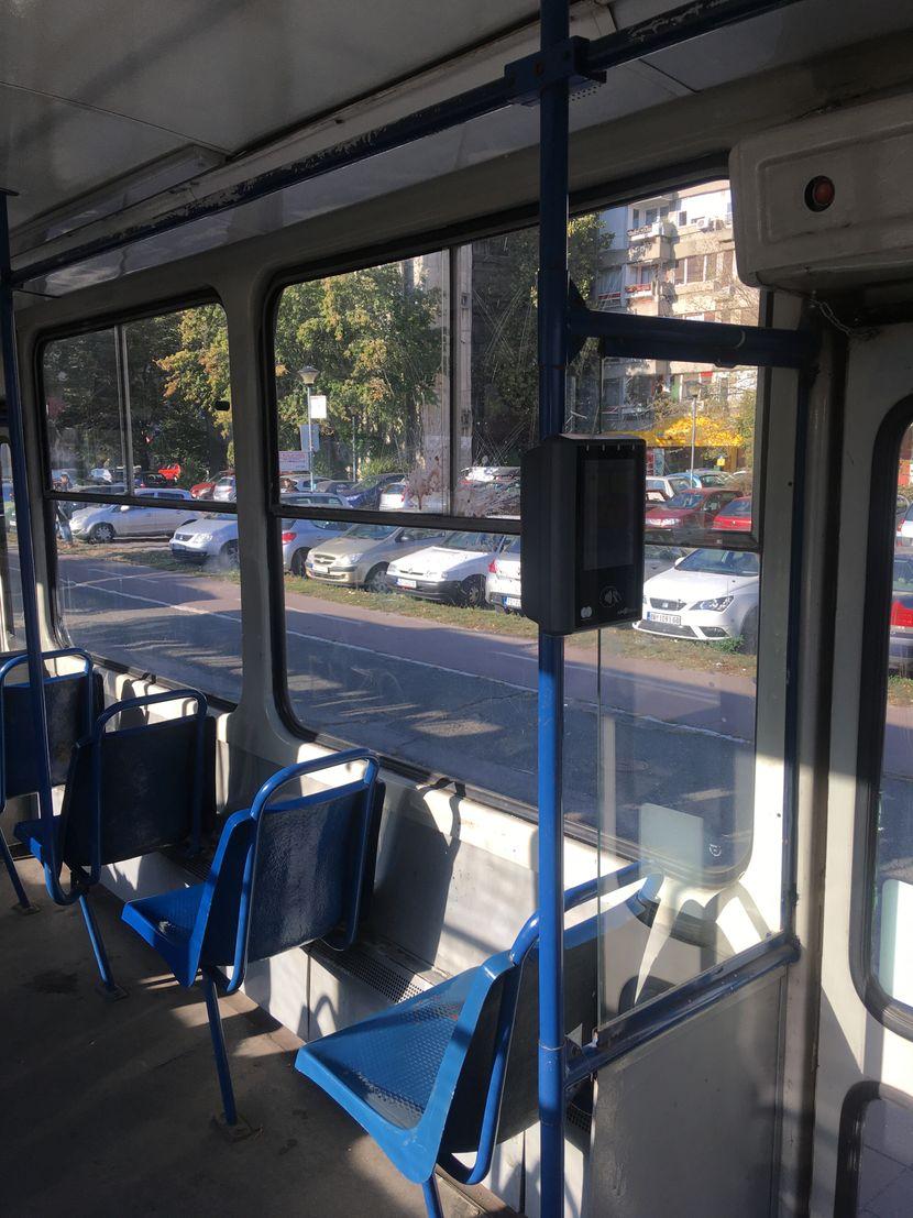 Gradski prevoz, prljavo, fleka, tramvaj