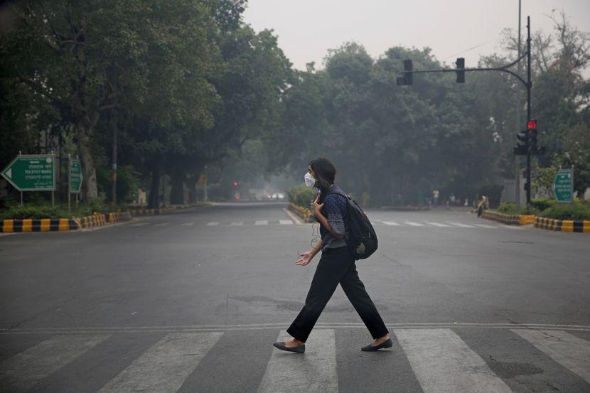 Nju Delhi Indija zagađenje vazduha
