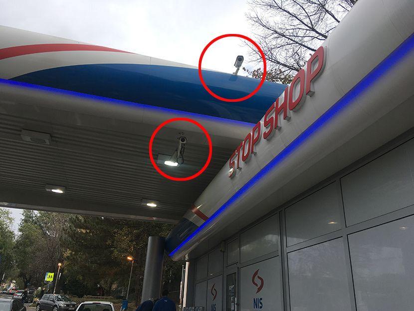 Ljubomir Marković Kića,, ubistvo na pumpi, kamere