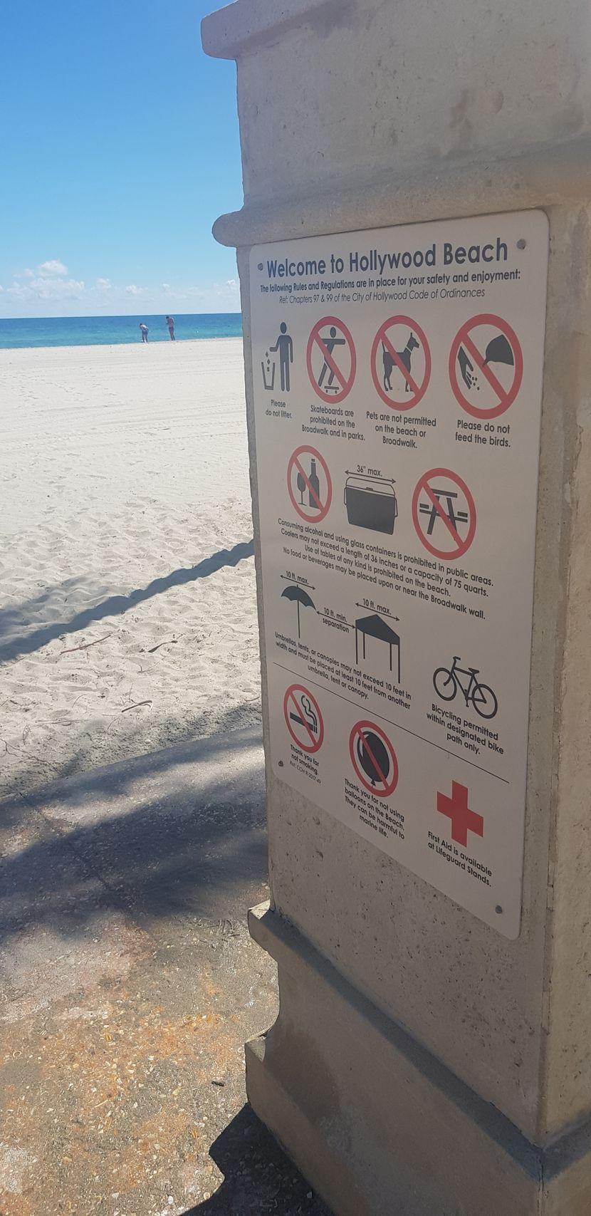 Pravila na plaži, Majami