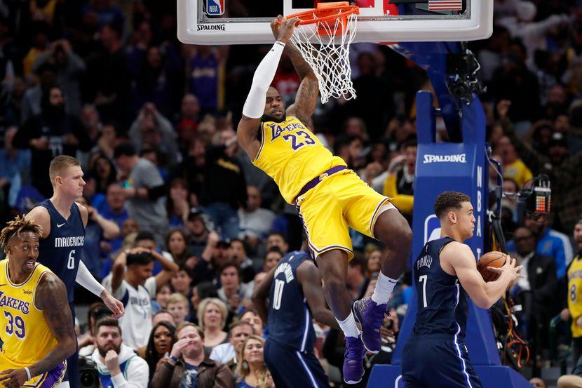 NBA LA Lejkers Dalas Maveriks