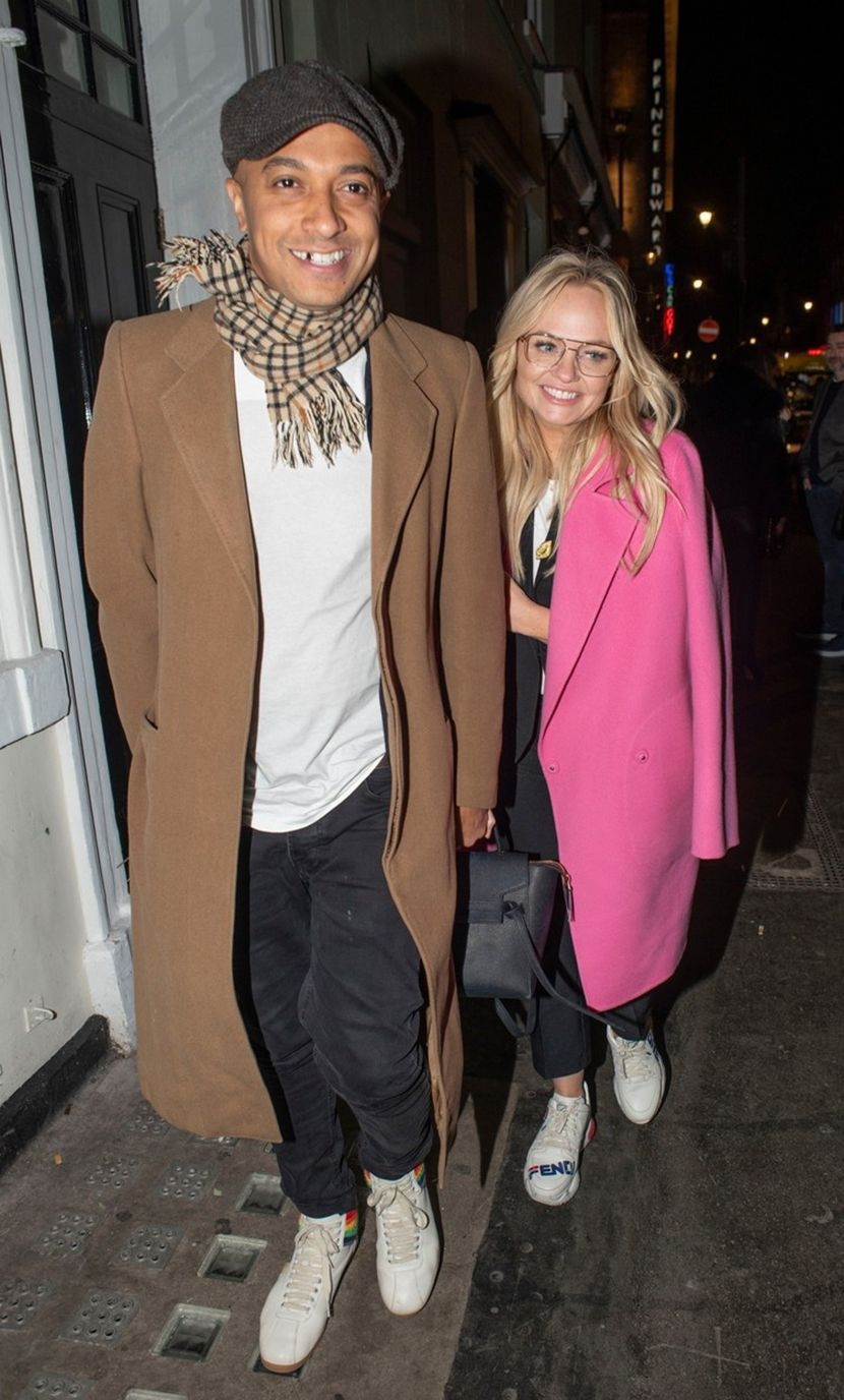 Emma Bunton, husband Jade Jones