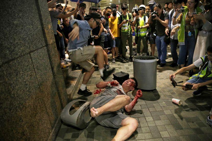 Hongkong protesti