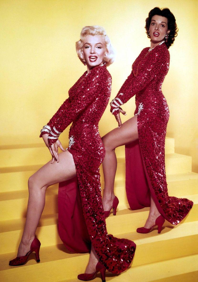Marilyn Monroe, Jane Russell in Gentlemen Prefer Blondes