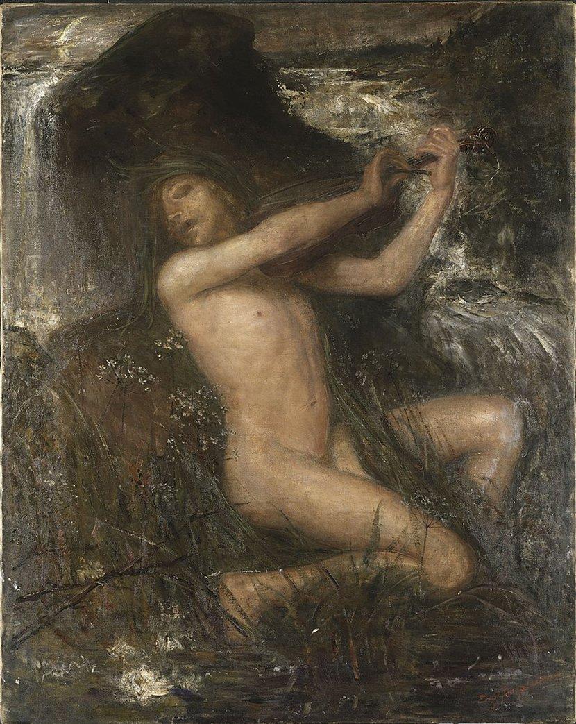 The Water Sprite, Nacken, mitsko bice
