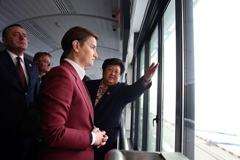Brnabić sa predstavnicima distrikta Baošan