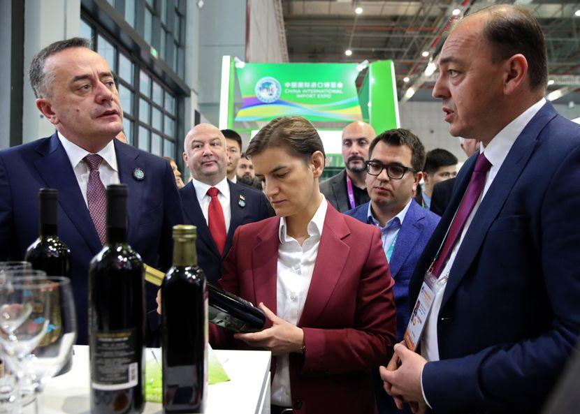 Srpski štand - sajam izvoza EXPO u Šangaju