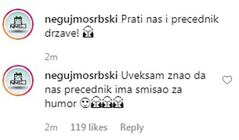 Vucic, Negujmo