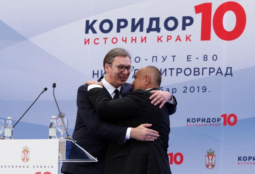 Aleksandar Vučić i Bojko Borisov
