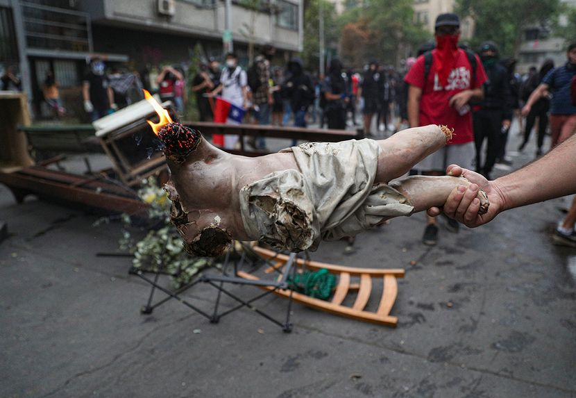 Demonstracije, protest, demonstranti, cile