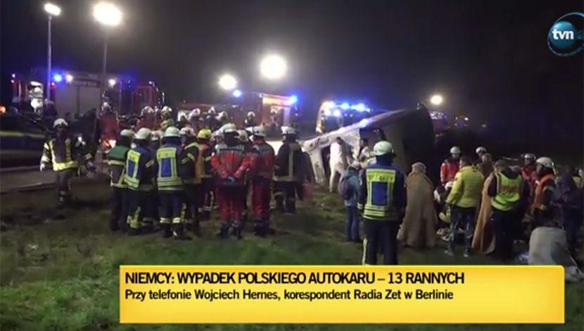 Poljska, saobraćajna nesreća