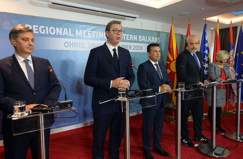 sastanak lidera Zapadnog Balkana na Ohridu