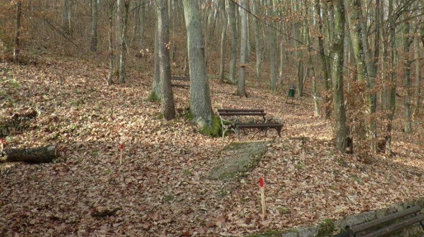 staza koja povezuje banju i manastir