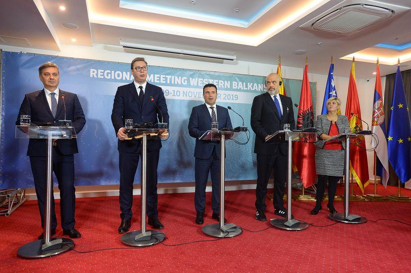Ohrid, Aleksandar Vučić, sastanak lidera Zapadnog Balkana
