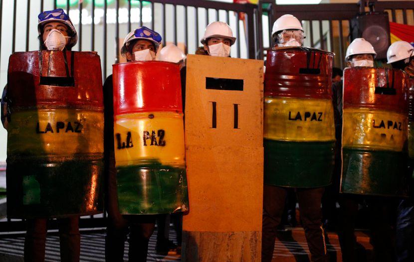 Bolivija protesti