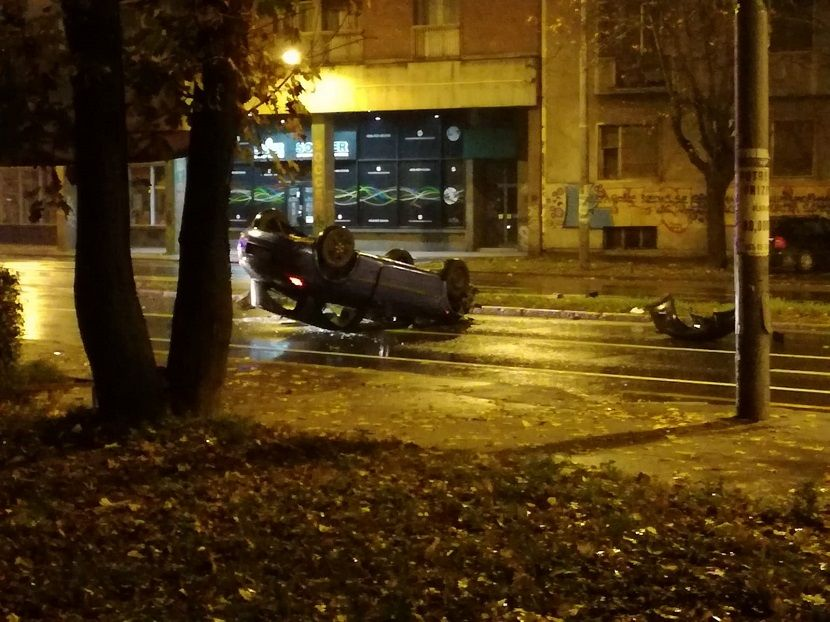 saobraćajna nesreća u Zemunu