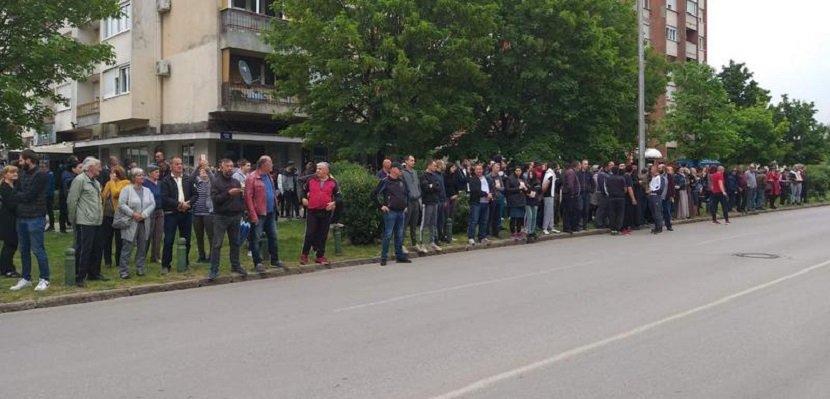 Nikšić, građani, Joanikije, podrška
