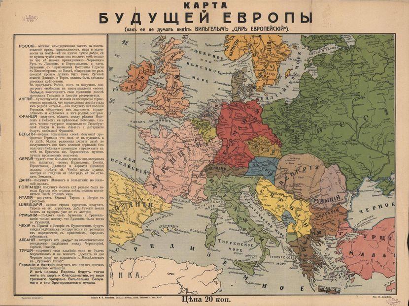 Ruska vizija Evrope 1914: Srbija od Ljubljane do Drača ali bez Bačke i  Banata, Crna Gora nezavisna! - Telegraf.rs