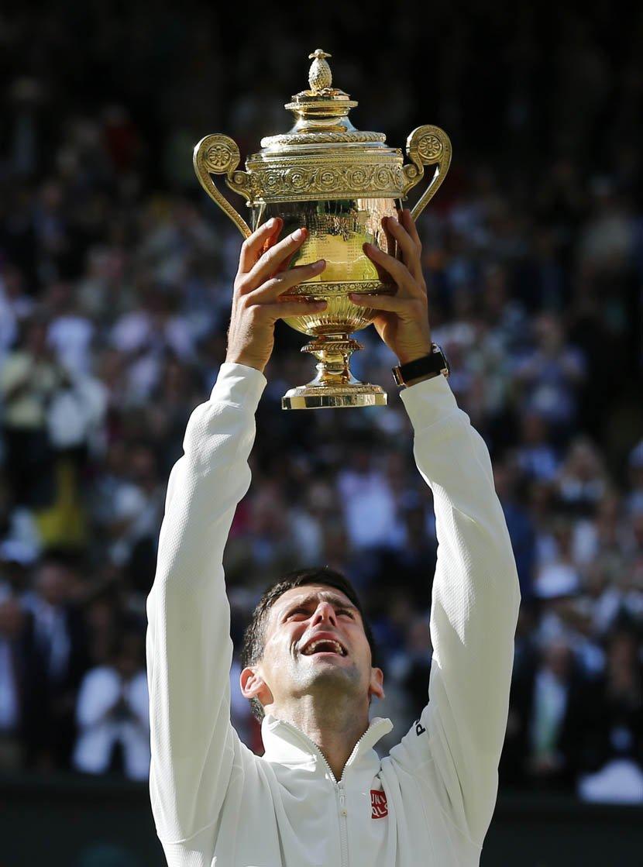 Novak Đoković je u finalu VImbldona pobedio Rodžera Federera