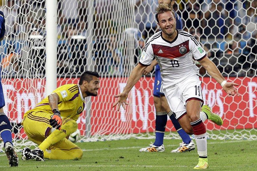 SP, finale, fudbalska reprezentacija Nemačke, Argentine, Mario Gece