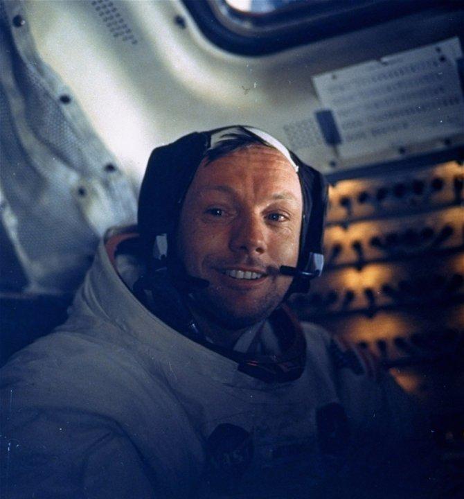 Nil Armstrong. Foto: Tanjug/AP/NASA