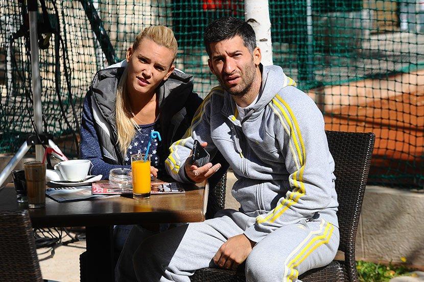 Teniski turnir poznatih - Ana Bebić i Filip Miletić