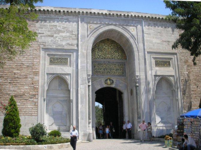 Imperijalna kapija kojom su sultani obično ulazili u palatu Topkapi. Foto: Wikimedia Commons/Gryffindor