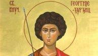 Danas je Đurđic: Da nam dušman više ne preti, pomozi nam Georgije Sveti