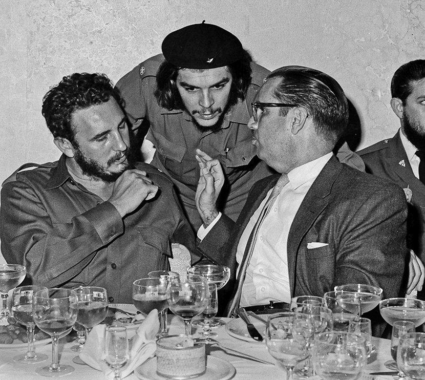 Fidel Kastro, Ernesto Če Gevara, Osvaldo Dortikos
