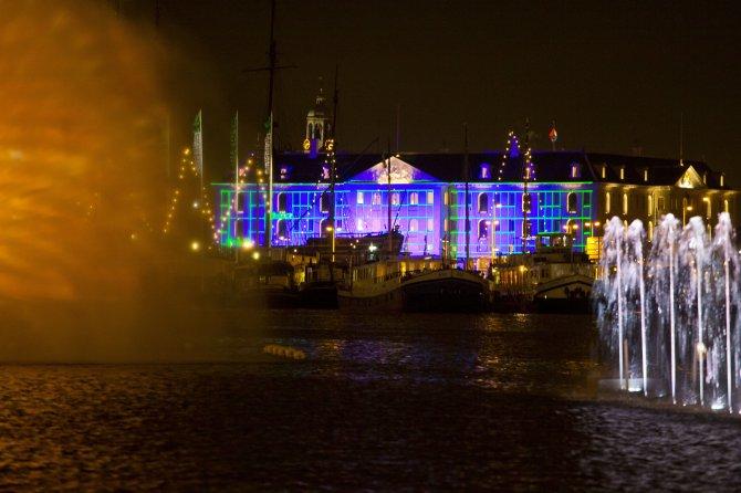 Festival svetla u Amsterdamu. Foto: Tanjug/AP