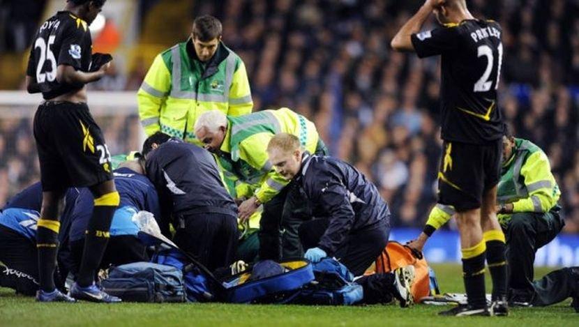 Smrt na fudbalskom terenu