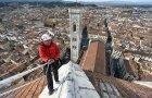 Visinski radnici u rutinskoj proveri firentinske katedrale