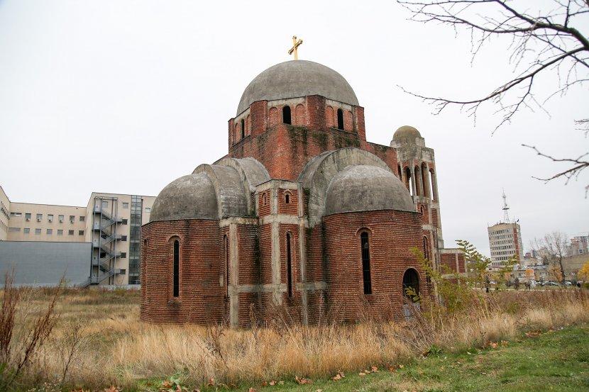 Kosovo, Priština, Saborni hram Hrista Spasa