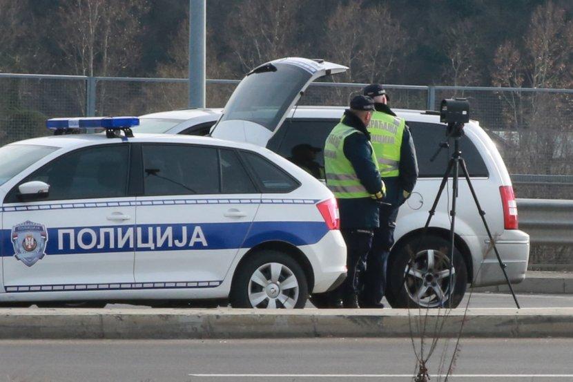 Saobraćajna policija, radar