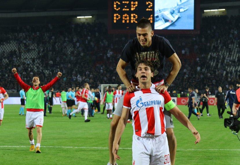 Vujadin Savić, Filip Stojković, 157 Derbi, FK Crvena zvezda, FK Partizan