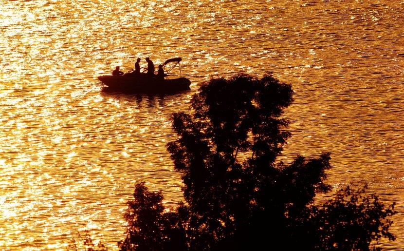 Zalazak sunca u Novom Sadu