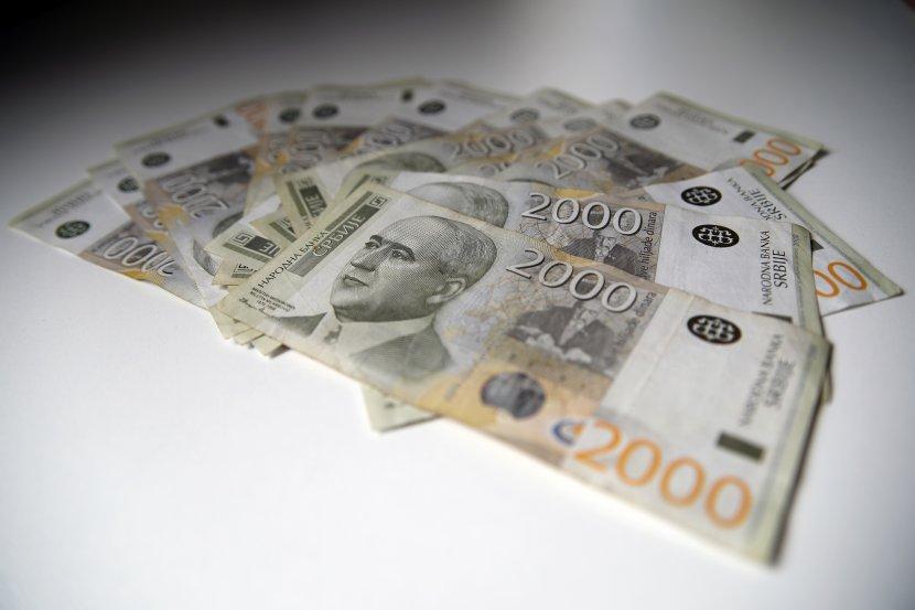 Dinari, pare, novac, dve hiljade dinara, novčanice
