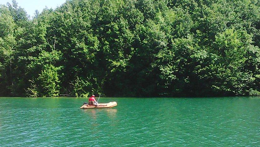 Perucac, perucacko jezero, Bajina Basta