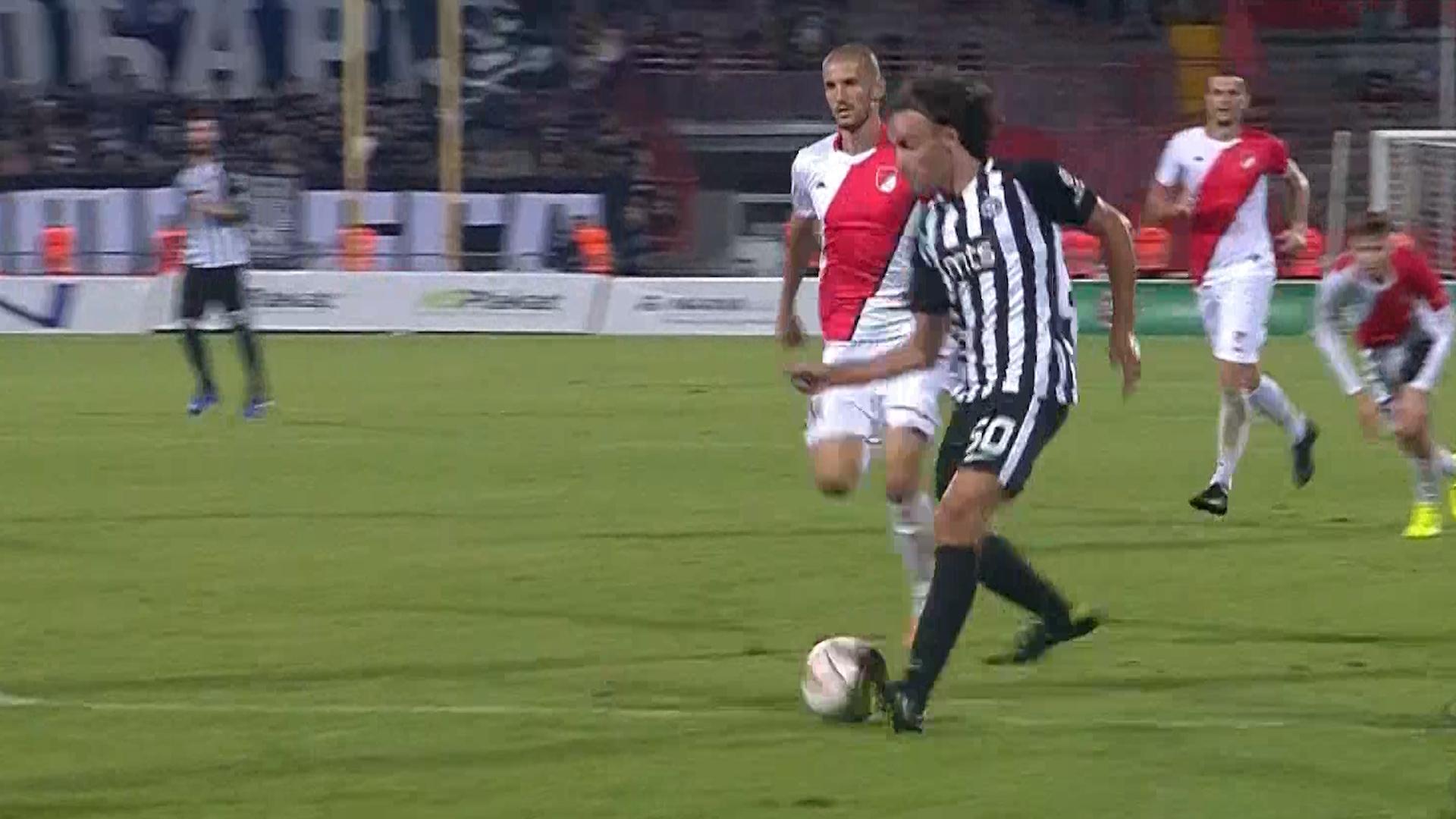 Natho delio magične asistencije, Marković postigao gol na 2. debiju: Partizan siguran u Novom Sadu!