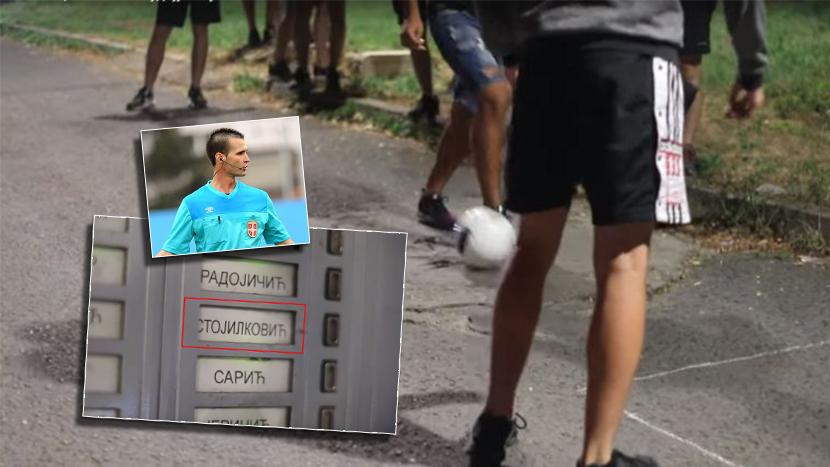 Grobari posetili sudiju koji je Zvezdi svirao dva penala: Izveli performans ispred njegove zgrade