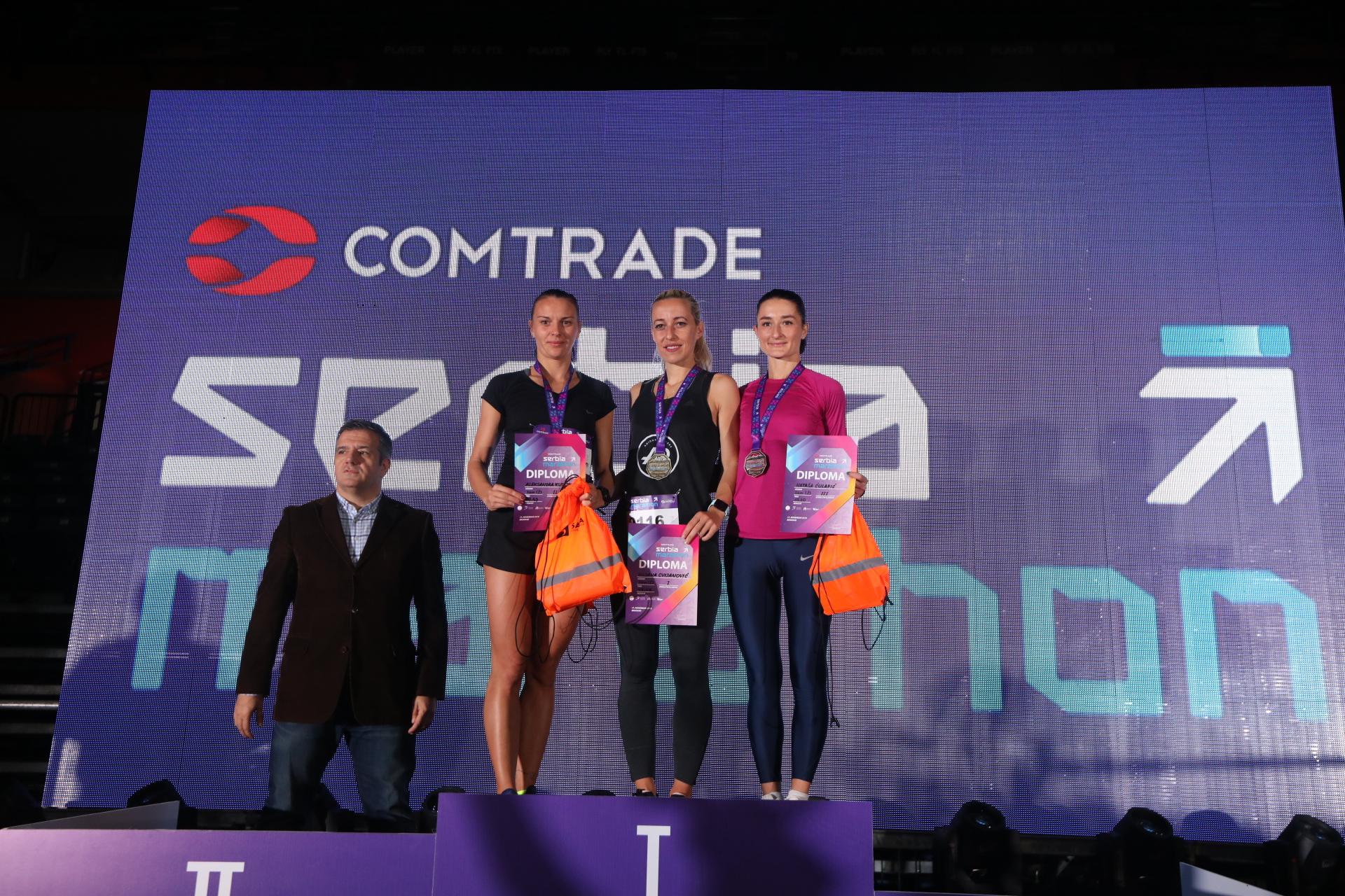 Počeo prvi Comtrade Serbia Marathon, već imamo pobednike na 5 kilometara!