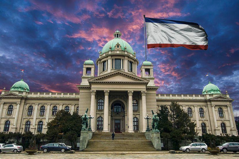 Zastava Krima u Skupštini Srbije: Osuda Ambasade Ukrajine - Telegraf.rs