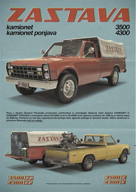 Jugoslavija je imala svog Mustanga ili Ferarija Zastava-350-4300-pikap-andrej-troha-1-460x0